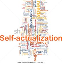 Self-Actualization Stock Photo