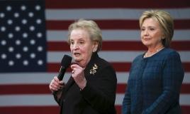 Madeleine Albright Hillary Clinton